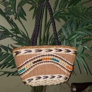 Sun N Sand straw summer purse